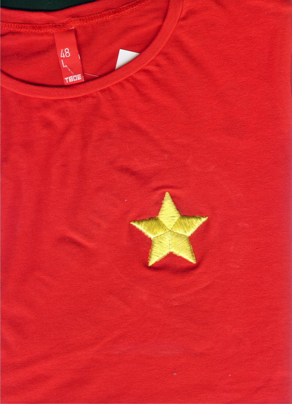 Звезда, вышивка 3Д, 3D, объемная.